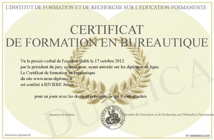 Certificat-de-formation-en-bureautique
