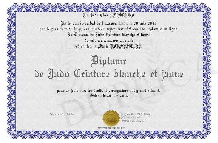 4f0cf3cb6d21 Diplome-de-Judo-Ceinture-blanche-et-jaune