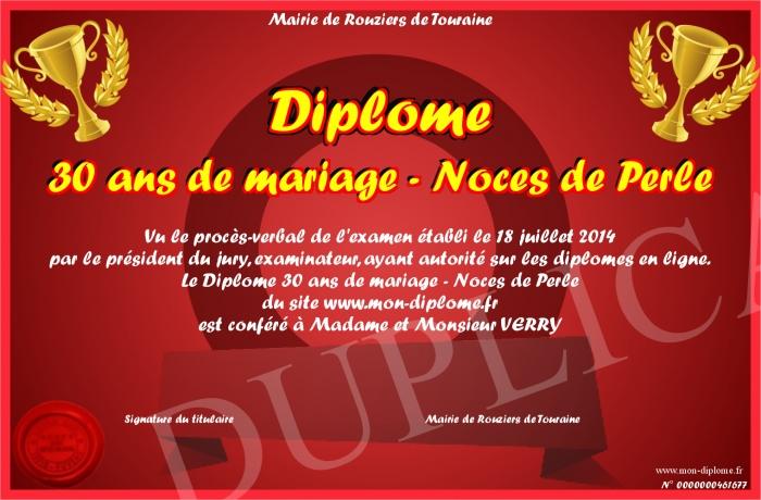 Noce De Mariage 30 Ans