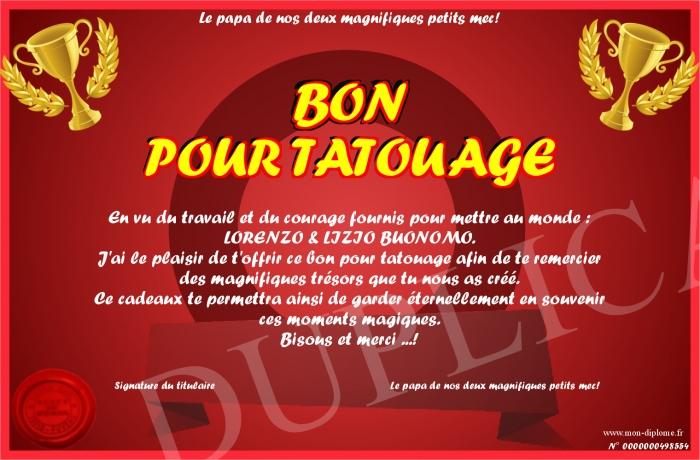 Bon Pour Tatouage