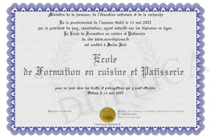 Ecole de formation en cuisine et patisserie - Formation cuisine patisserie ...