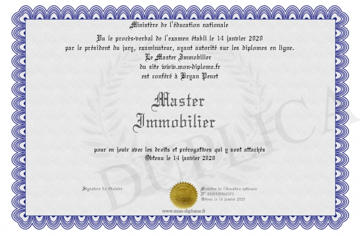 Master-Immobilier